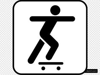 A Person Sliding On A Skate Board