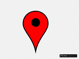 Map Pin Red