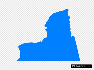 Nys Outline Blue