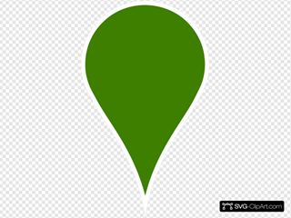 Google Maps Icon - Blank