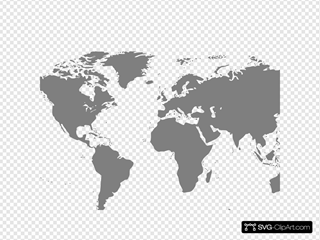 Map SVG Clipart