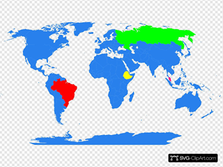 Global Map Color