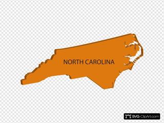 3d North Carolina Map