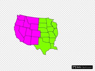 Us Map Regional