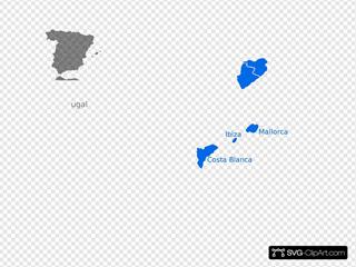 Map Spain Club Villamar 400x315