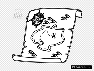 Treasure Map Outline