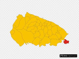 Map Of Comune Of Locorotondo Province Of Bari Region Apulia Italy