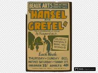 Hansel And Gretel,  The Gingerbread Children By Humperdinck Music, Animals, Dancing, Songs.
