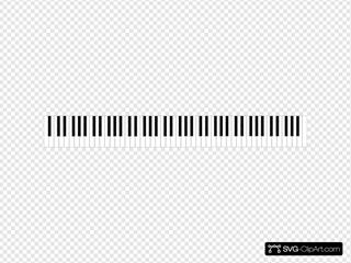 Standard 88 Key Piano Keyboard