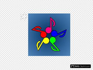 Five Note Color Wheel
