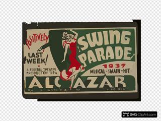 Swing Parade  1937 Musical Smash Hit Positively Last Week!