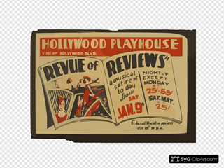 Revue Of Reviews  A Musical Satire Of Today Hollywood Playhouse, Vine Near Hollywood Blvd. : Federal Theatre Project Div. Of W.p.a.