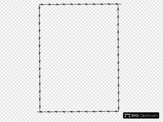 Revans Barbed Wire Border