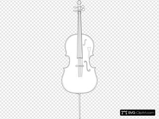 Cello Clip Art Icon And Svg Svg Clipart