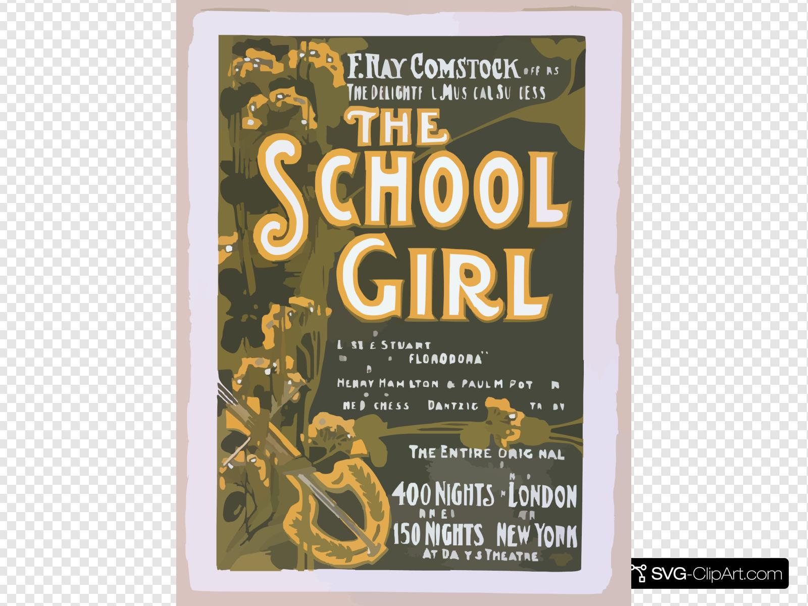 F. Ray Comstock Offers The Delightful Musical Success, The School Girl Music By Leslie Stuart, Composer Of  Florodora  ; Book By Henry Hamilton, Author Of  The Duchess Of Dantzig  & Paul M. Potter, Author Of  Trilby.