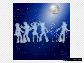 Disco Dancing Night