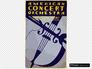 American Concert Orchestra--federal Music Project--works Progress Administration