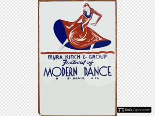 Festival Of Modern Dance - Myra Kinch & Group Music By Manuel Galea.