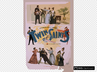 Twin Saints The New Comedy In 3 Acts : By Frank J. Hallo & Marie Madison.