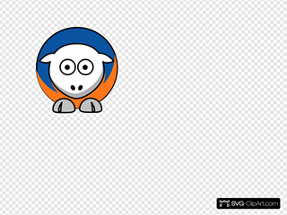 Sheep New York Knicks Team Colors