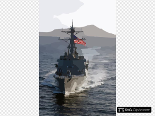 The Newly Commissioned Guided Missile Destroyer Uss Chafee (ddg 90) Sails Into Her New Homeport Of Pearl Harbor, Hawaii. 2