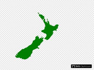 New Zealand Map Image