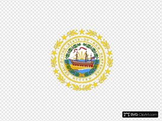 Us New Hampshire Flag