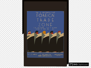 The United States  First Foreign Trade Zone Staten Island, City Of New York, Opened February 1, 1937 / J. Rivolta.