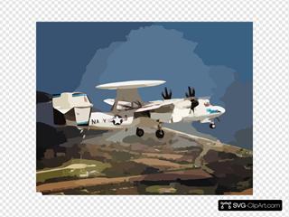 E-2c Hawkeye Np2000 Test Flight