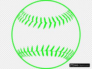Green Softball