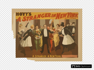 Hoyt S A Stranger In New York