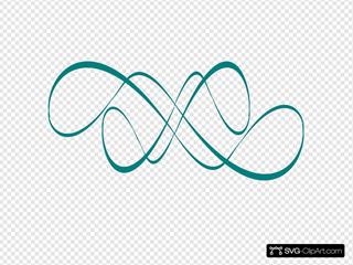 New Teal Swirl
