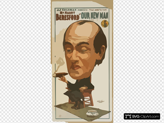 J.j. Coleman Presents  That Odd Fellow  Mr. Harry Beresford In Our New Man By Chas. T. Vincent