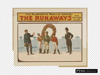 The Runaways The Elaborate Musical Comedy From New York Casino.