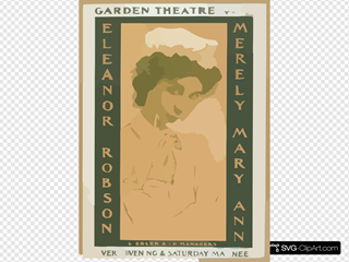 Merely Mary Ann Garden Theatre, New York, Every Evening & Saturday Matinee.