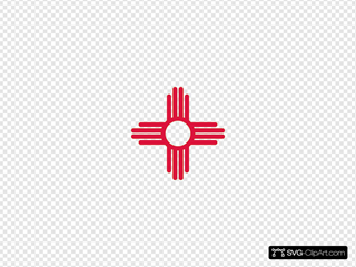 Flag Of New Mexico Usa