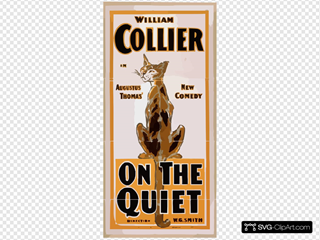 William Collier In Augustus Thomas  New Comedy, On The Quiet