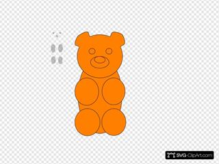 Gummy Bear Outline