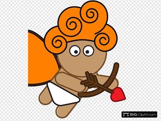 Orange Cupid Shooter
