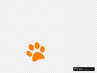 Paw SVG Clipart