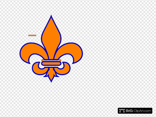 Orange SVG Clipart