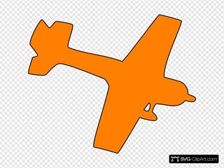 Orrange Plane
