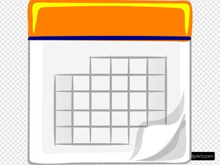 Orange Calendar Img