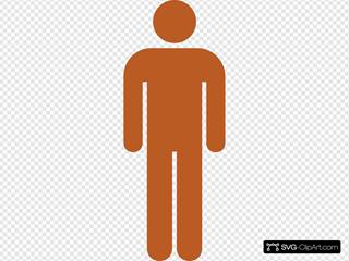 Orange Standard Man