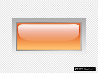 Led Rectangular H (orange)