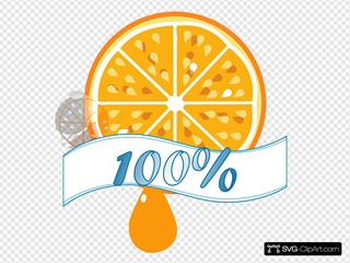 100 Percent Orange Juice