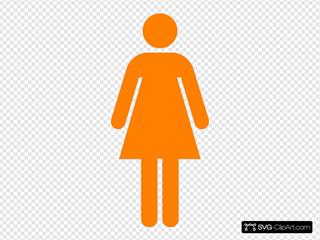 Aiga Female Orange