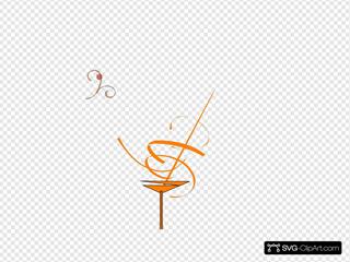 Orange Tini