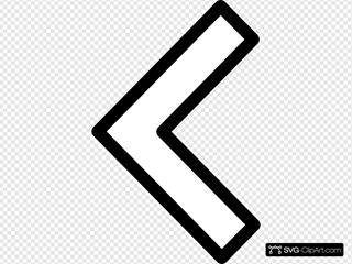 Orange Left Arrow3