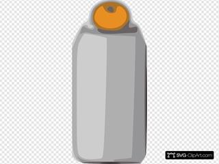 Orange On A Jar
